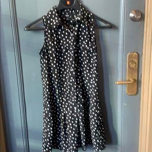 3 for 15$ SALE!!! Black Polka Dot Minidress